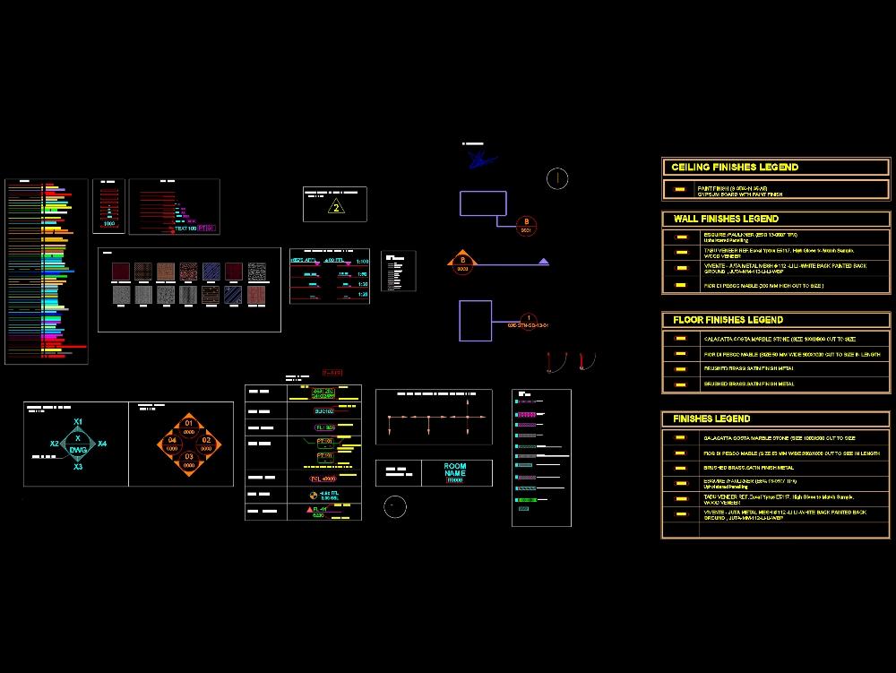 Cad standard file for architects & interior designer