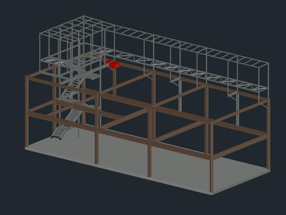 Estructura de corredor cortafuego