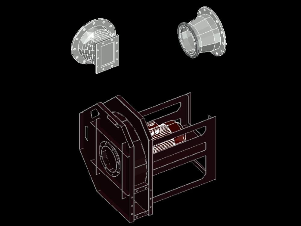 Ventilador de aire / ventilador centrífugo