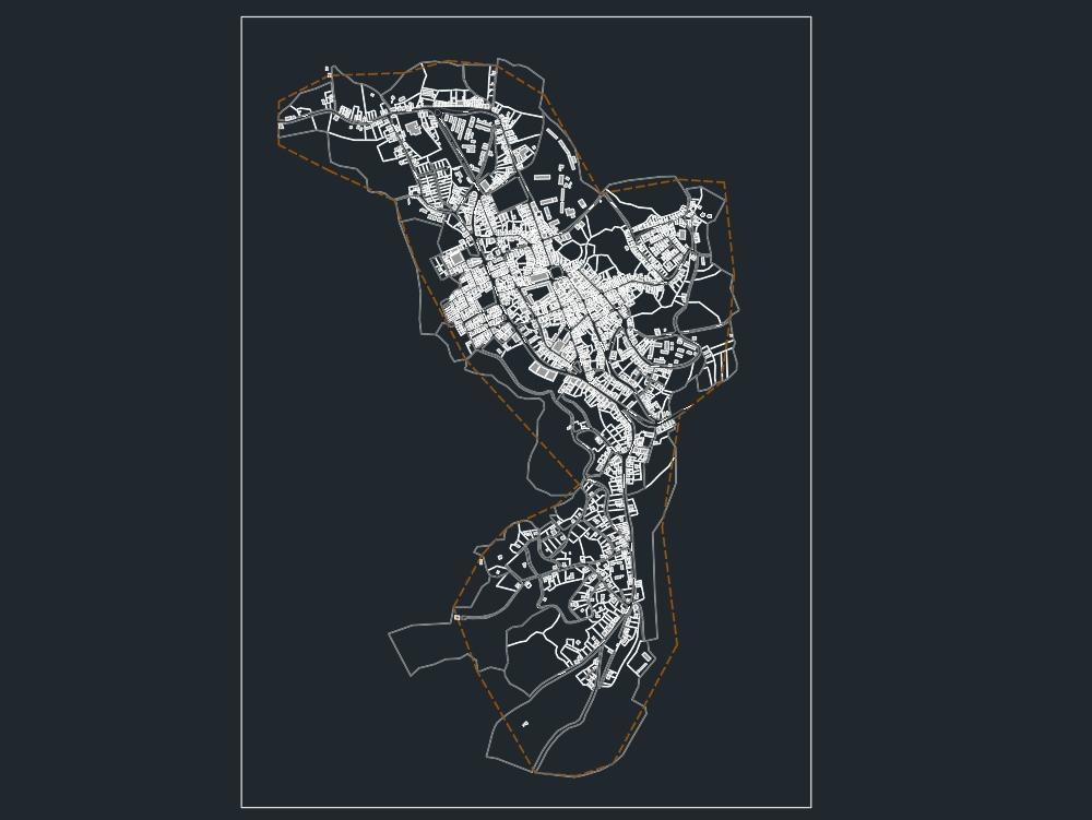 Mapa de canto celica  -ecuador