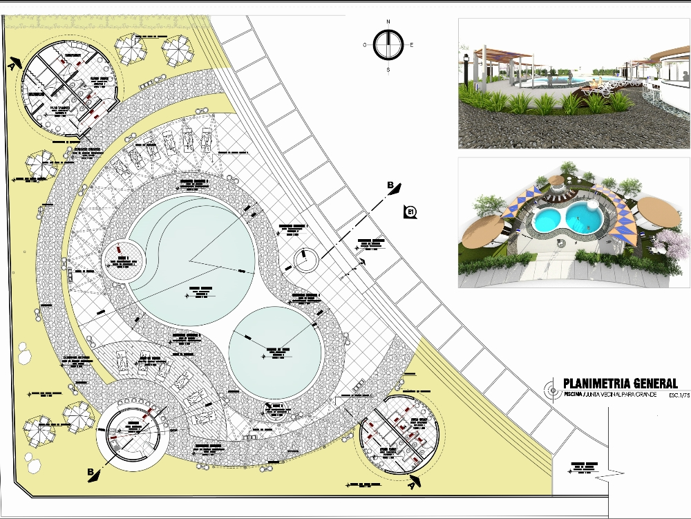 Recreational pool project