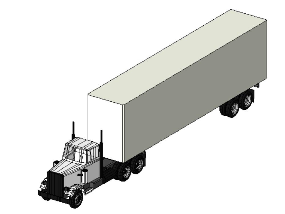 Truck - 118 wheeler
