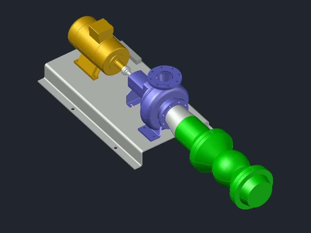 Bombas hidro-carburo de acero inox