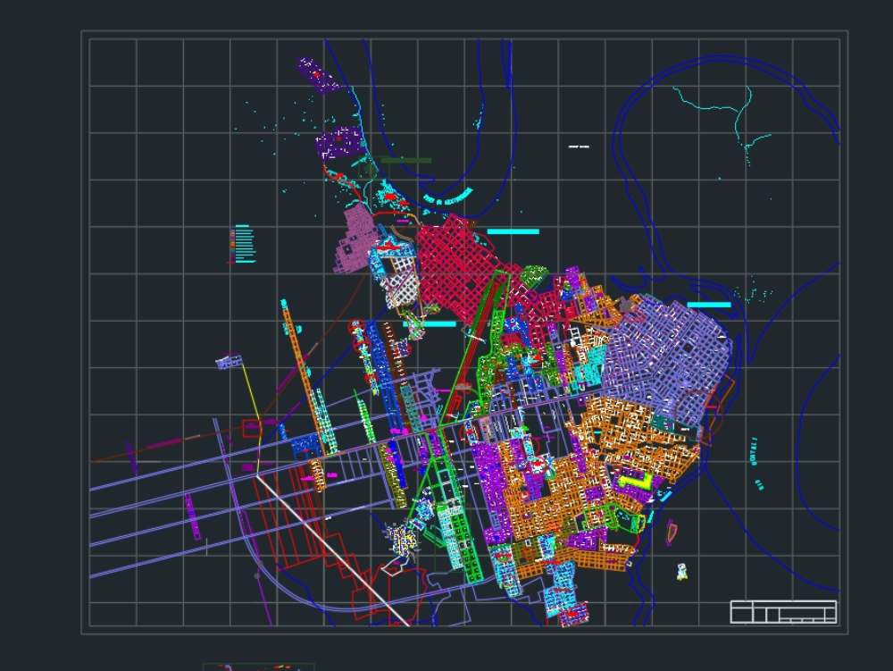 Plano catastral de la ciudad pucallpa 2021