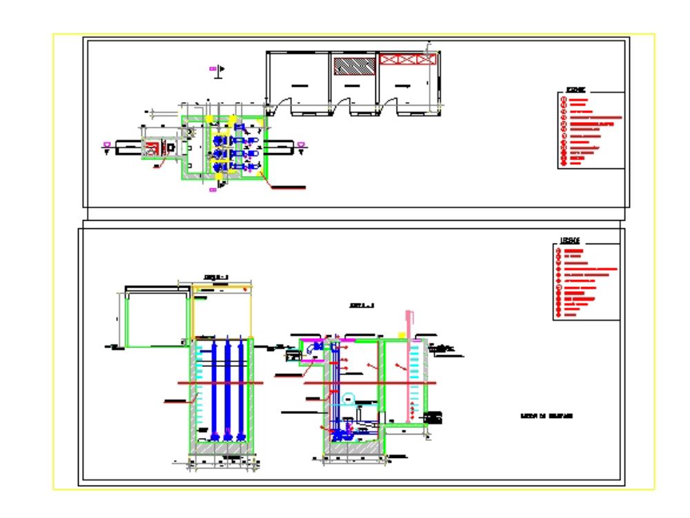 Pumping station with all details of conception
