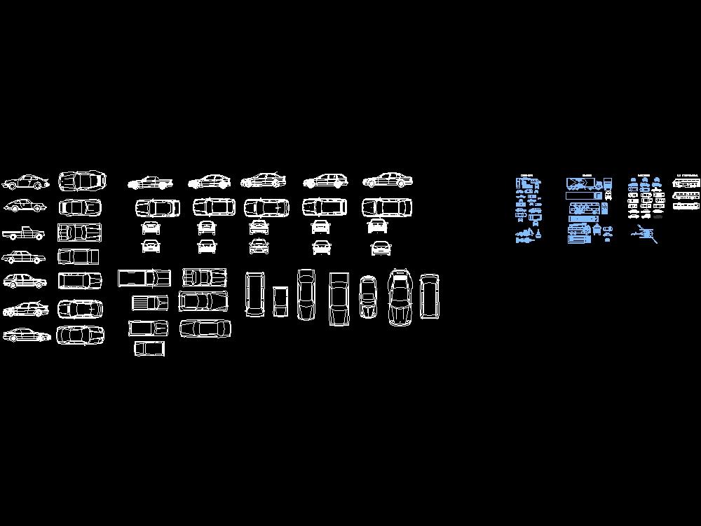 Cars; vans; bus trucks