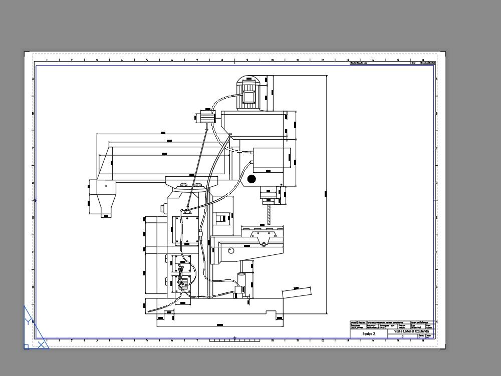 Vertical-horizontal milling machine