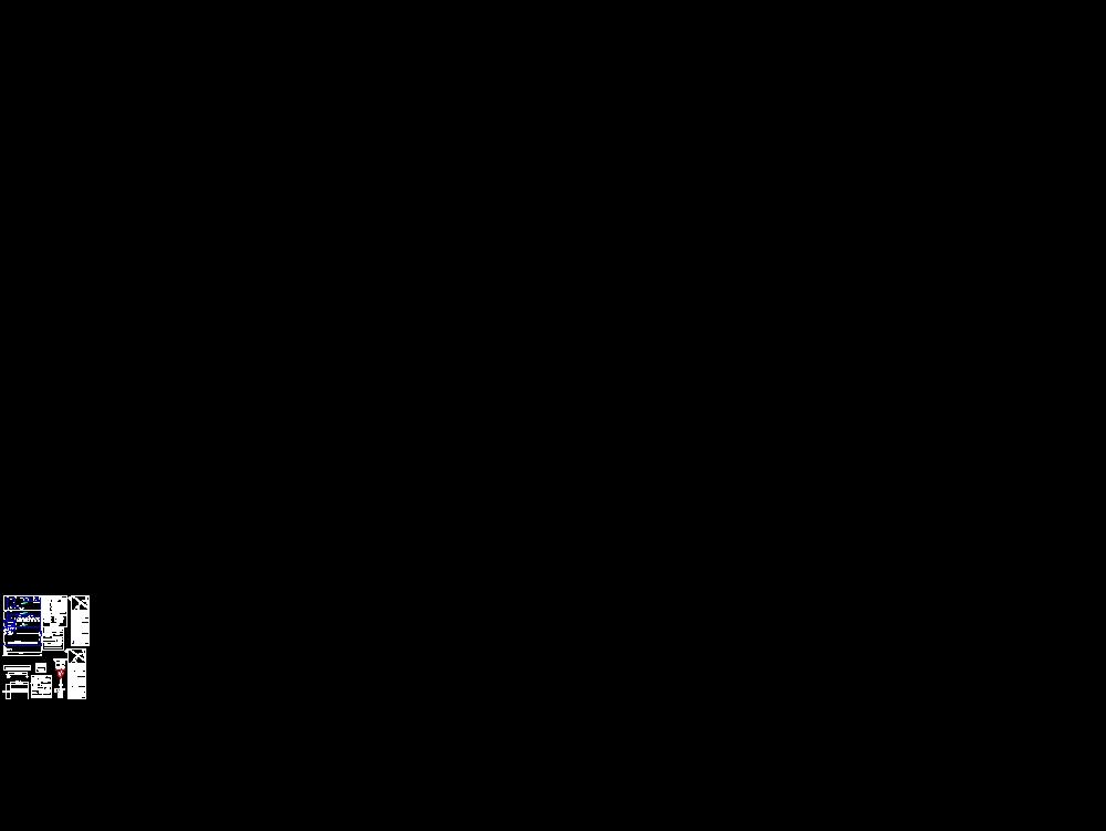Plano de subestación y fuerza eléctrico