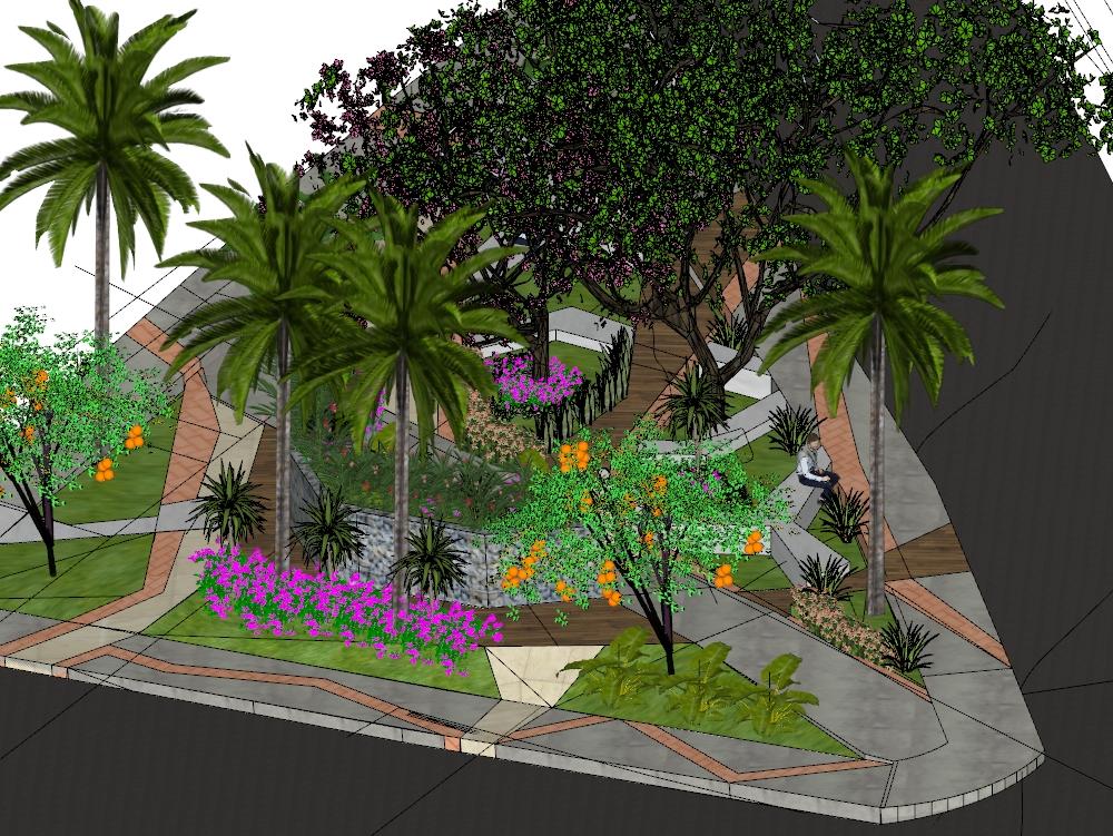 Corponor park municipality of santiago