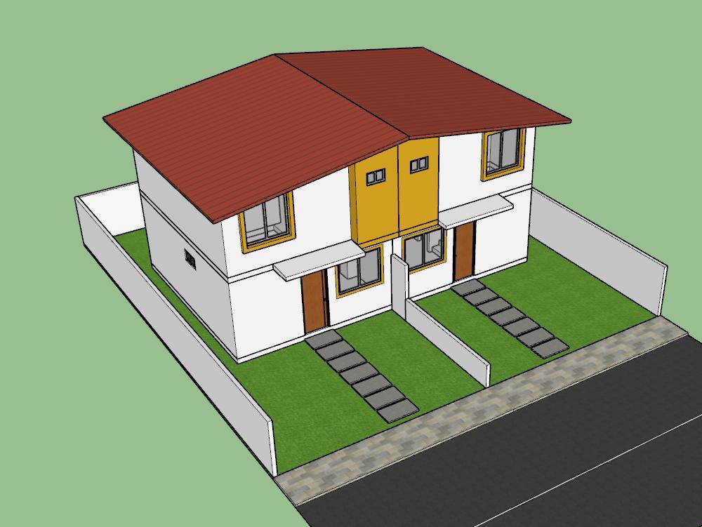 Casa en la playa 73m2 diseño ecuador 2021