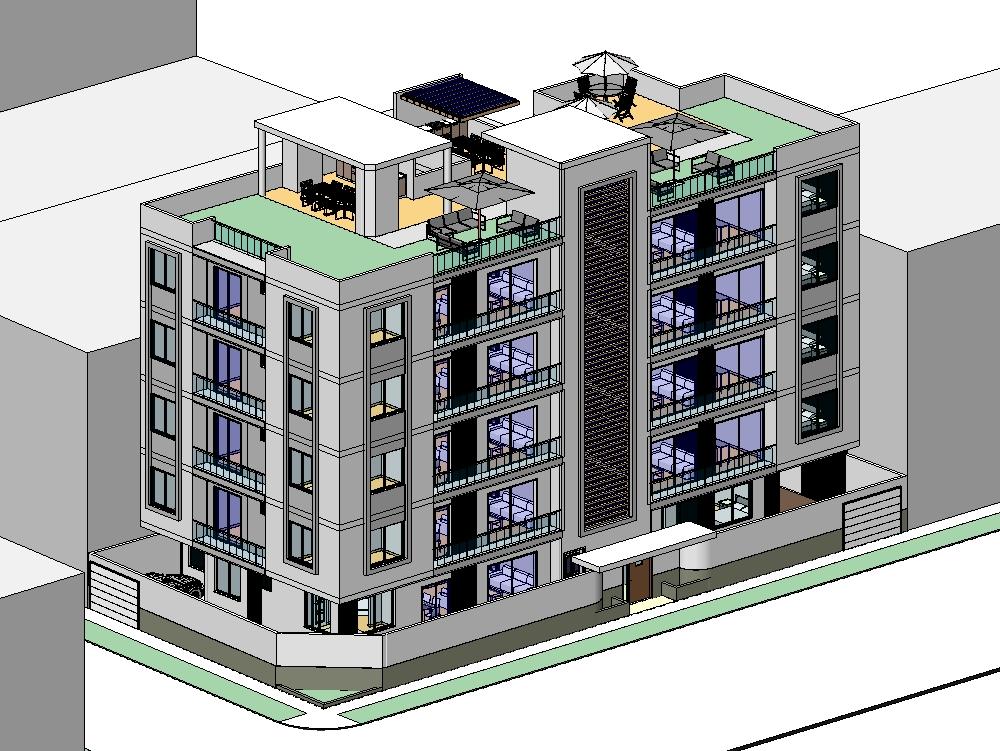 Edificio de vivienda multifamiliar