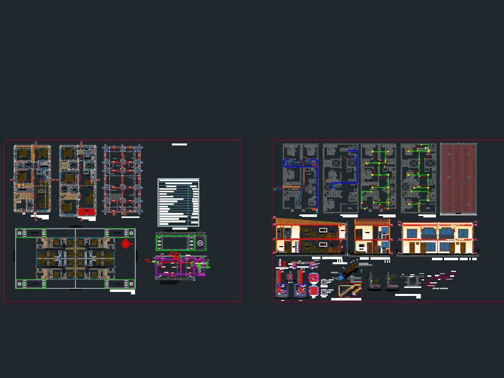 Detailed and bounded multifamily housing