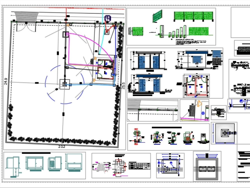 Project for a drinking water catchment system for a subdivision