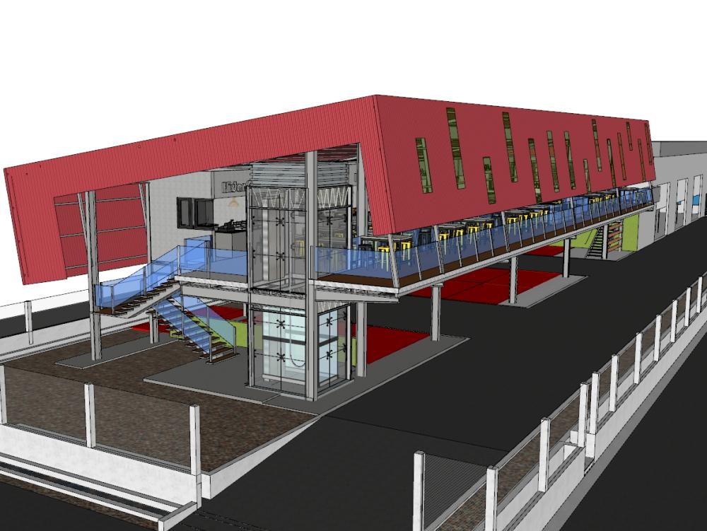 Proposed a hawker centre at kayu ara damansara