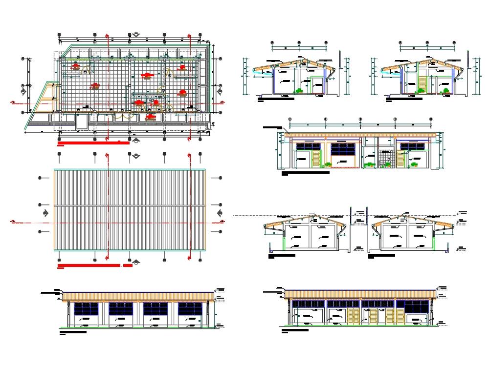 Planos desarrollo de arquitectura colegio