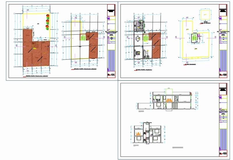 Ampliación de vivienda unifamiliar de 2 pisos