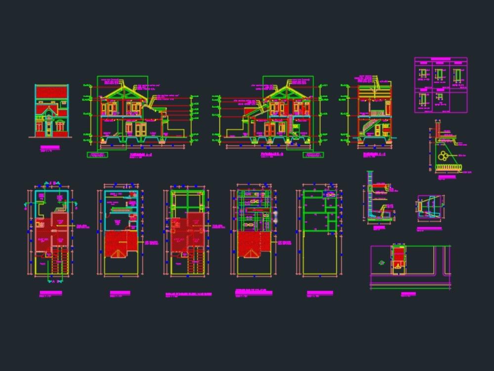 Rumah tinggal sederhana ukuran 6x7 meter