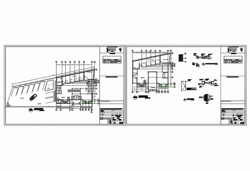 Proyecto plano de carpintería en dwg