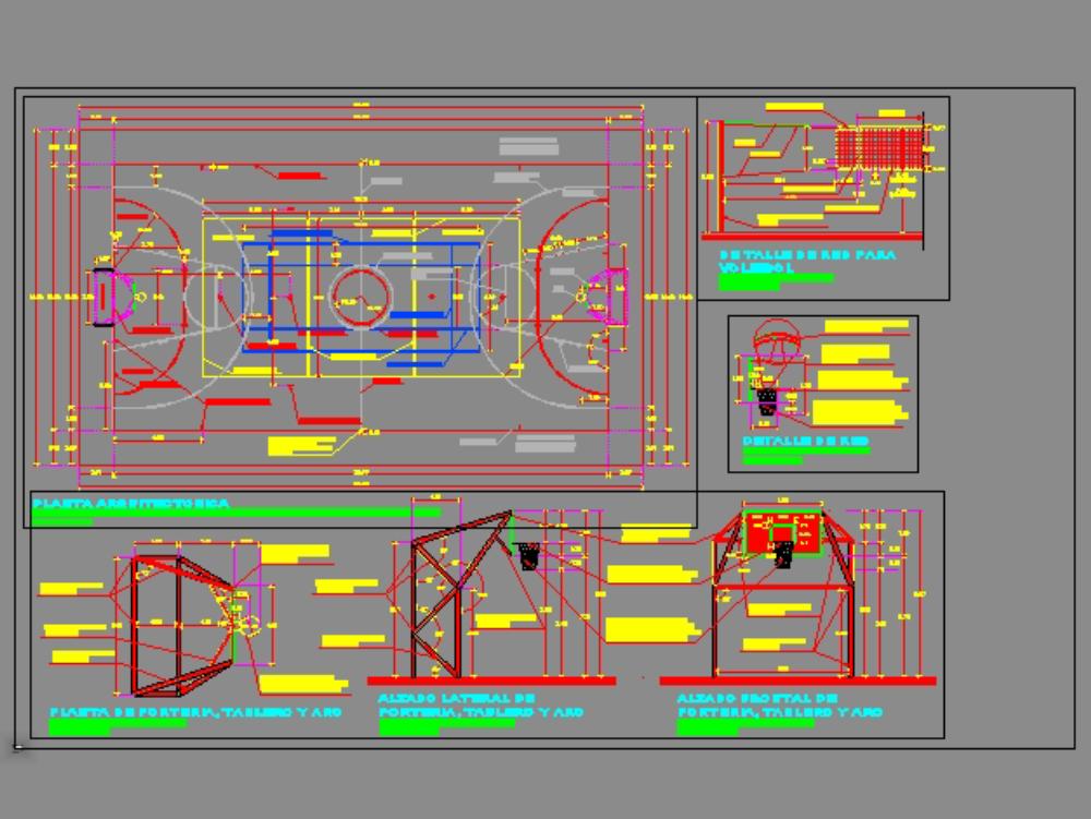 Multipurpose court