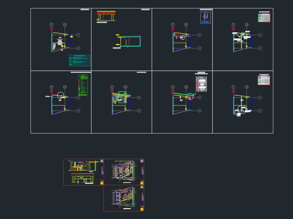 Spa - architectural plans