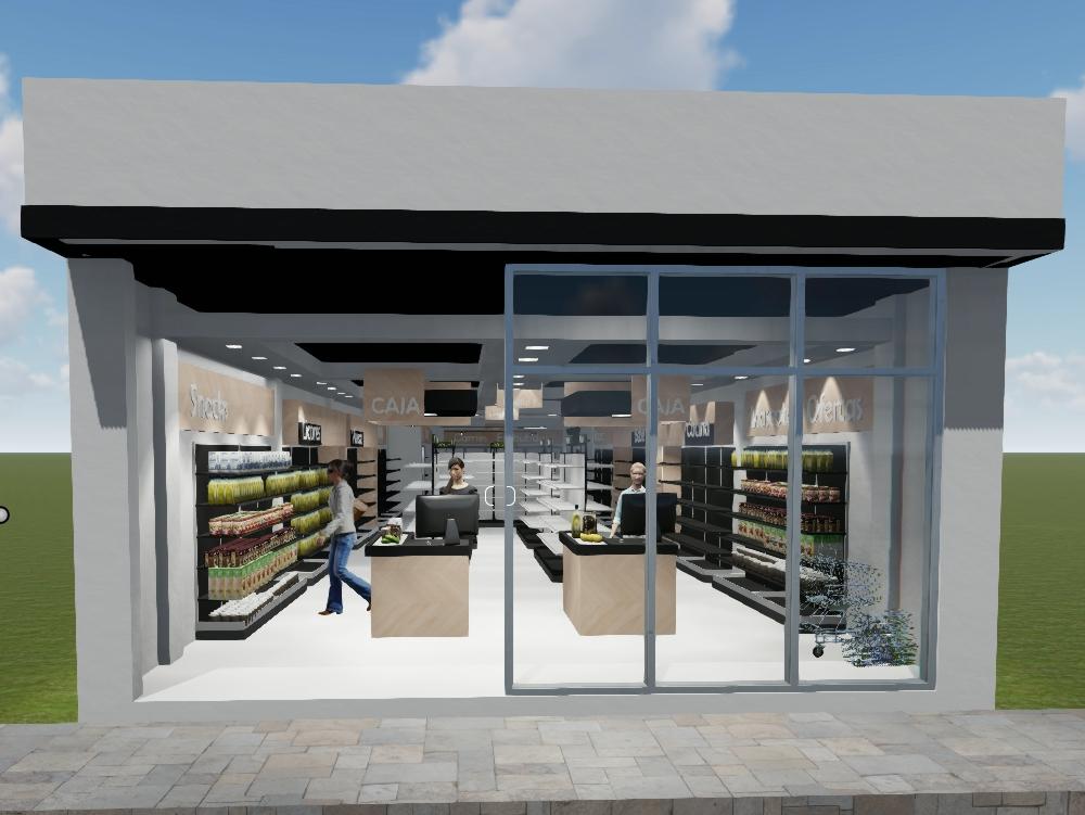 Commercial local minimarket