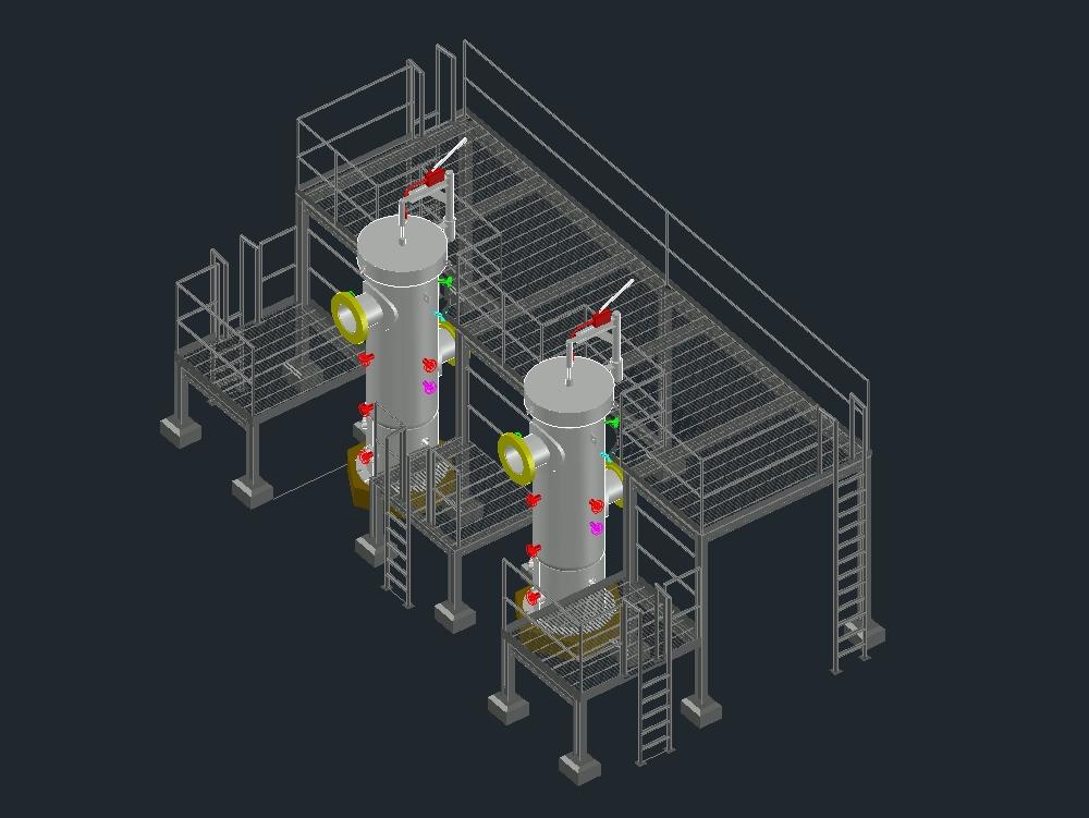 Filtros coalescedor para gas natural