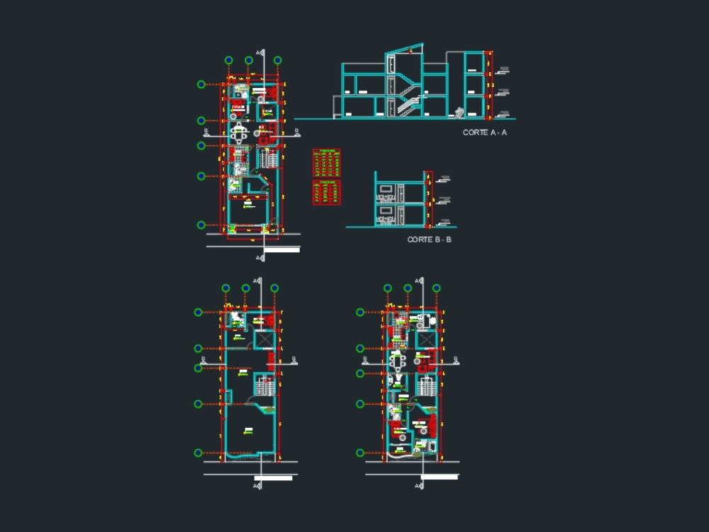 Store house store in autocad file