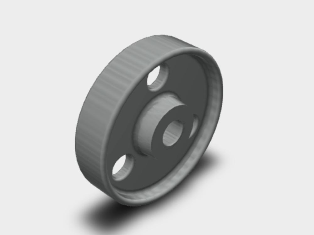 Truck wheel inventor autodesk part