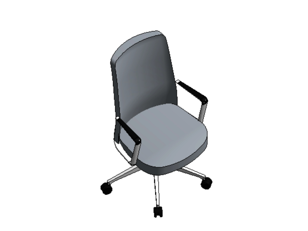 Set of chairs in revit