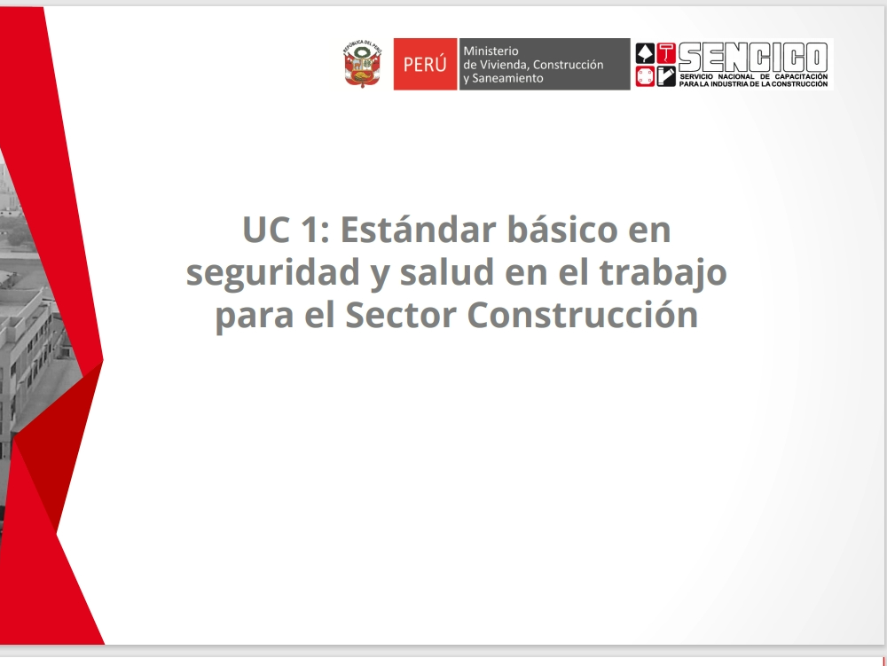 Occupational health and safety for the construction sector