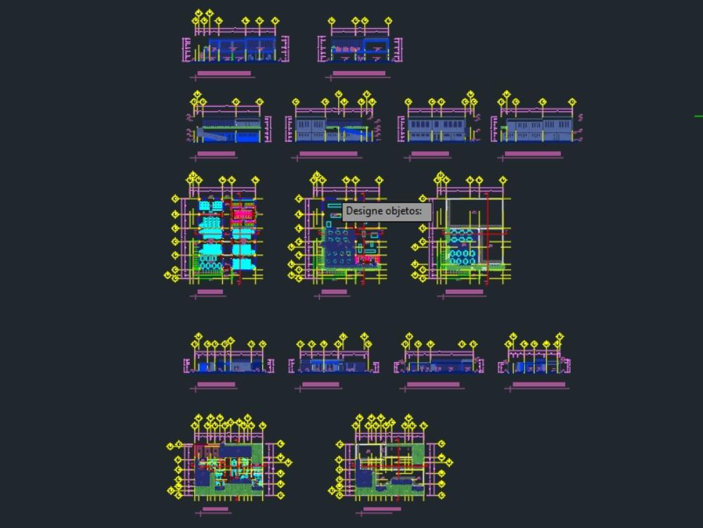 Conjunto las joyas arquitectonico