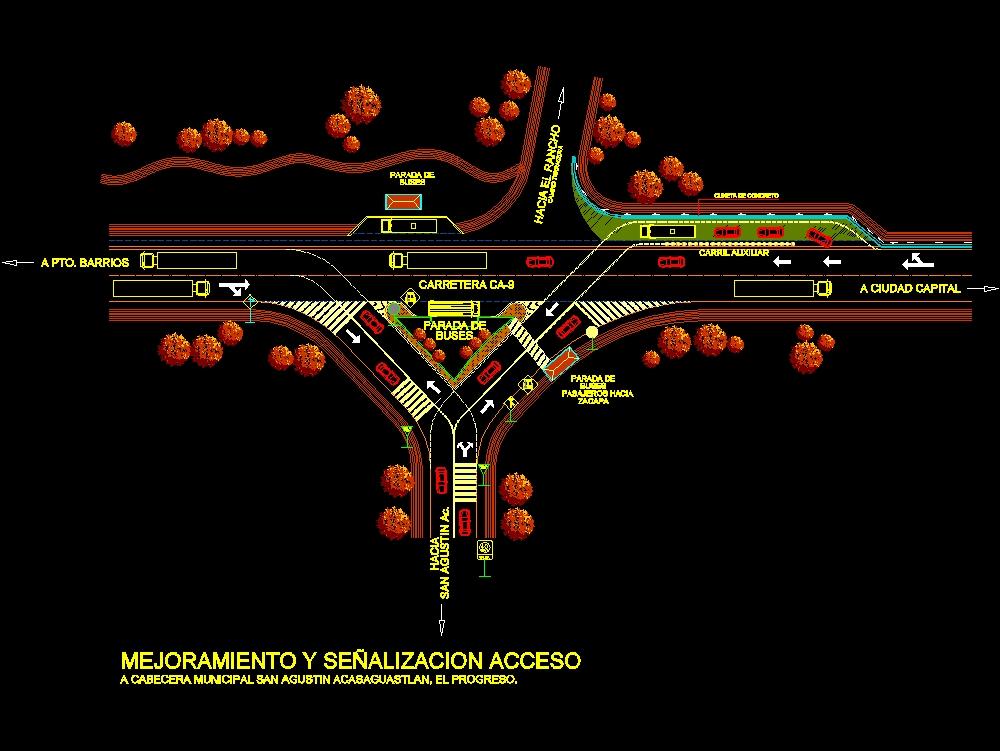 Urban design - t road planning