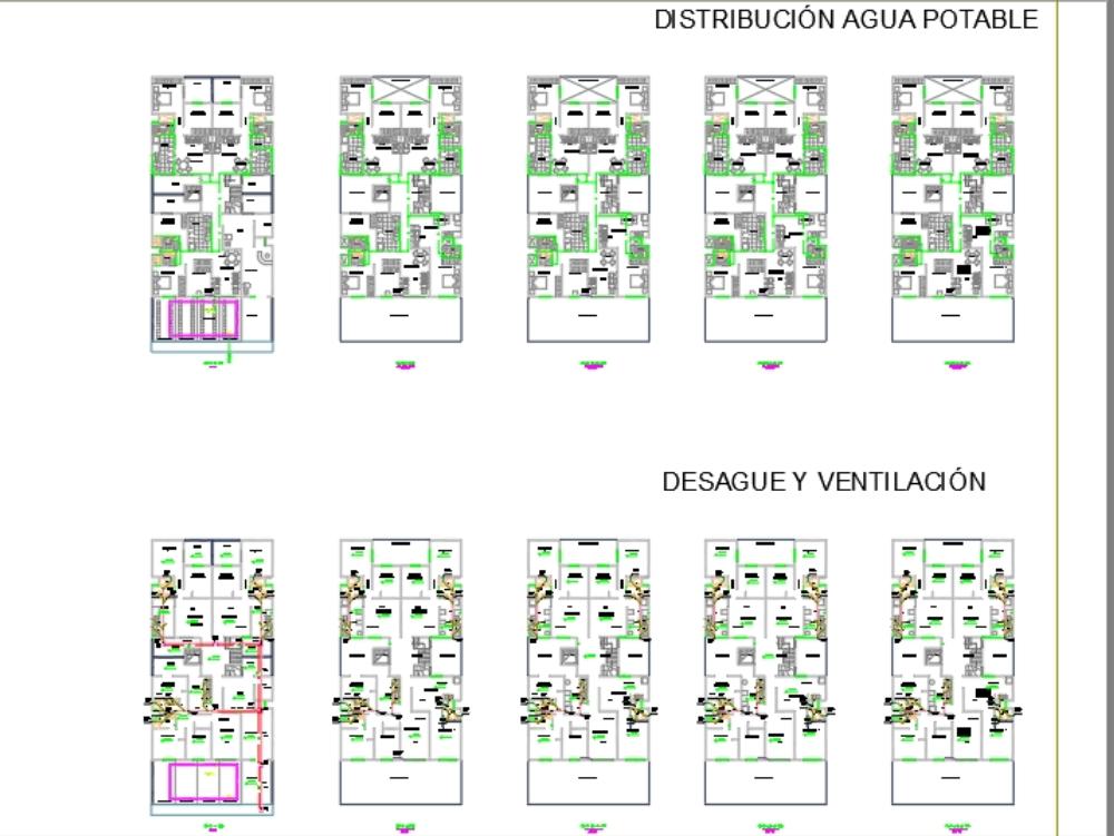 Instalaciones eléctricas multifamiliar