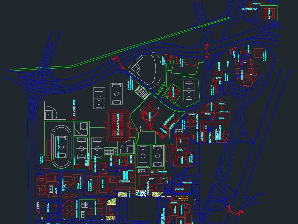 Autonomous university sketch