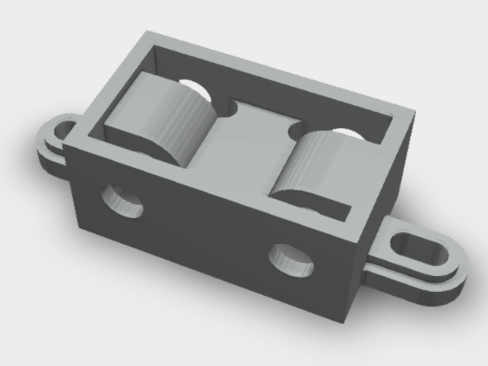 Guide block mechanical part cma