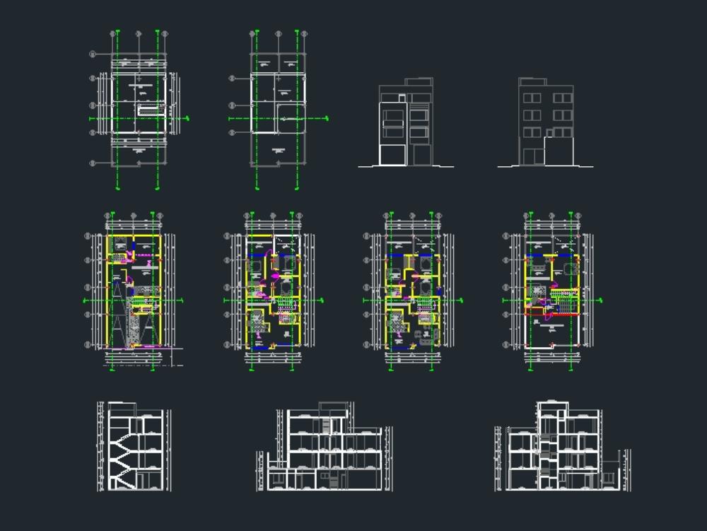 Arquitectonicos edificio residencial marq1