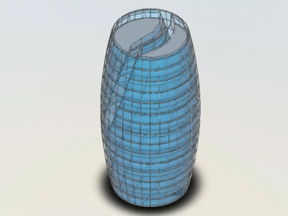 Leeza soho structure by zaha hadid.