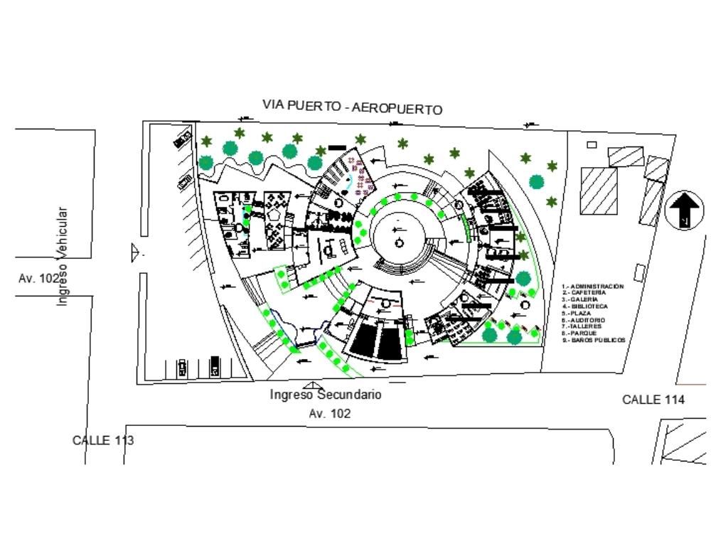 Centro cultural center del rio 1233