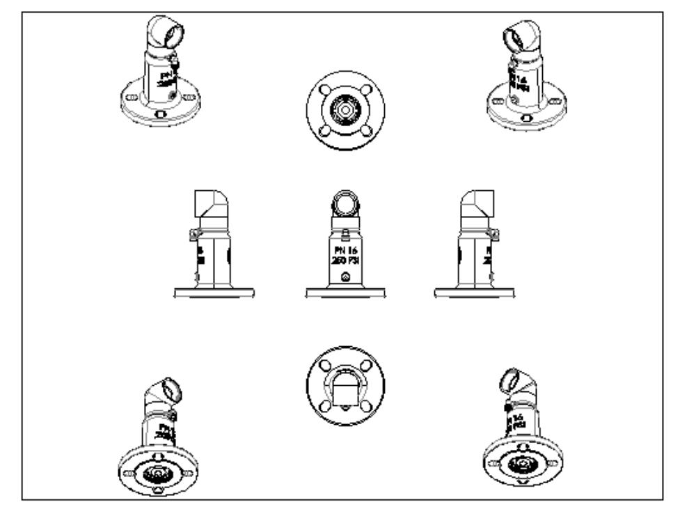 Triple function air valve drawings