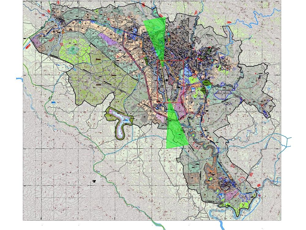 Tarapoto zoning plan