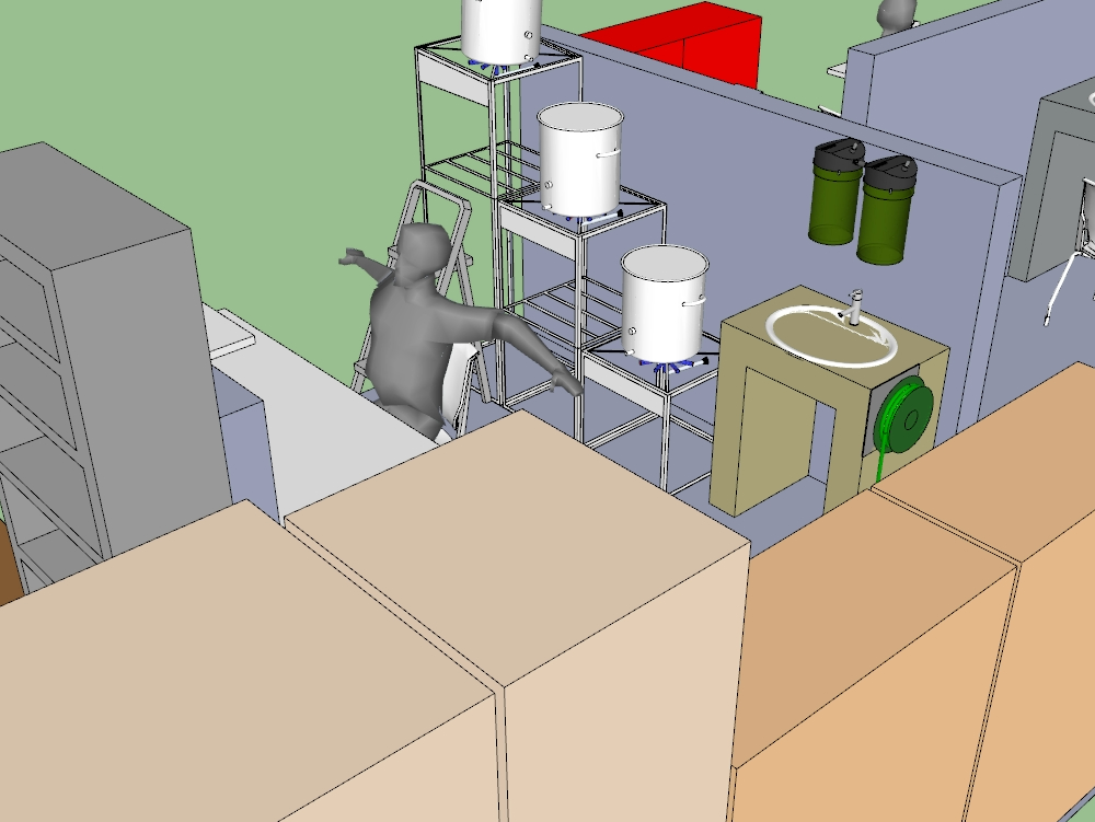 Agroindustrial engineering yogurt production plant