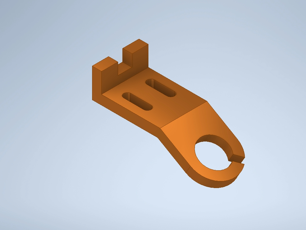 Anchor clip. inventor part auxiliary sight cma 2021