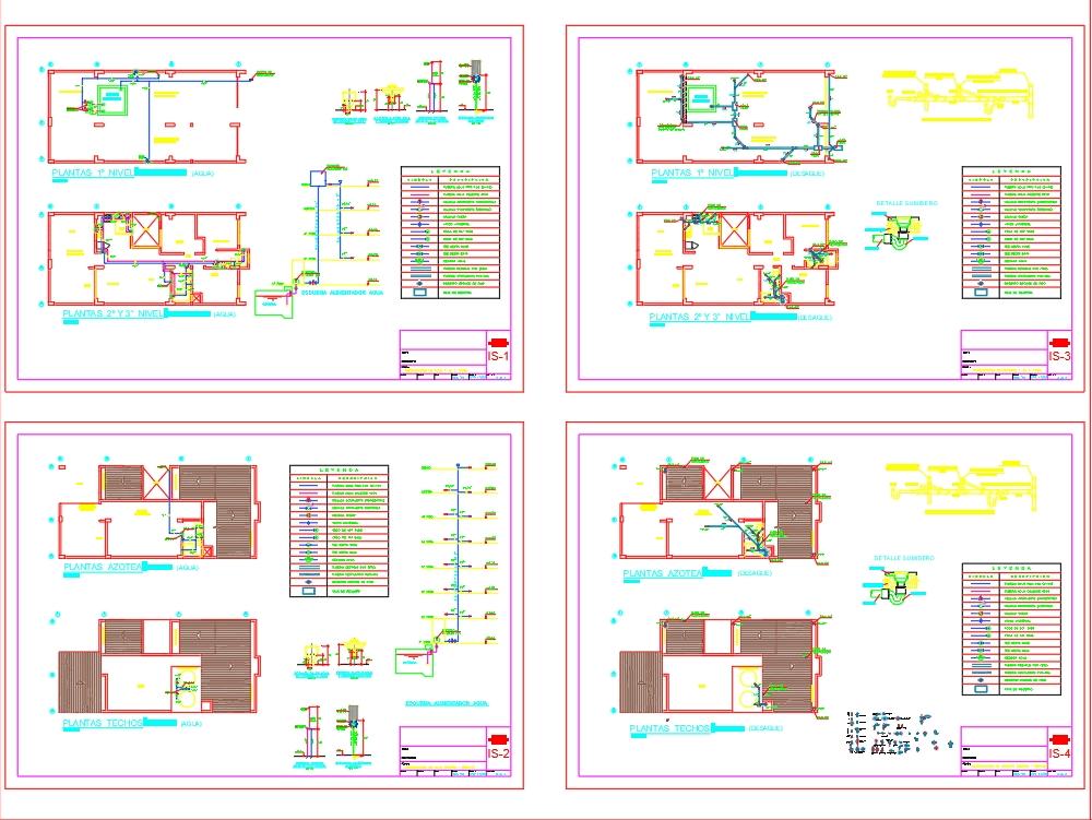 Multi-family housing sanitary facilities