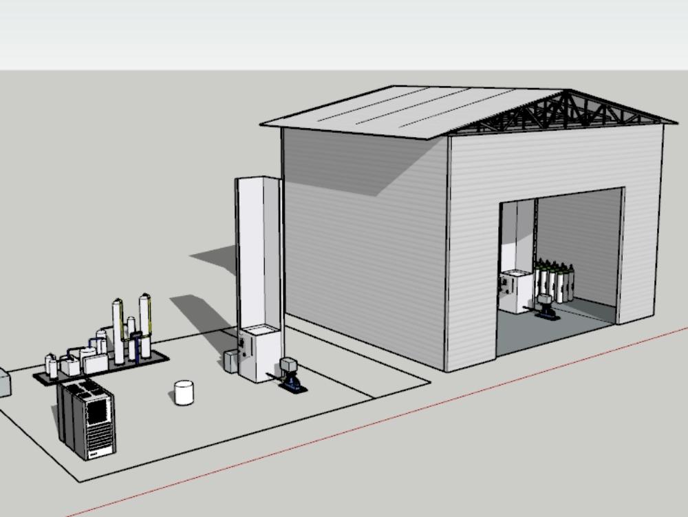 Oxygen treatment plant (peru)