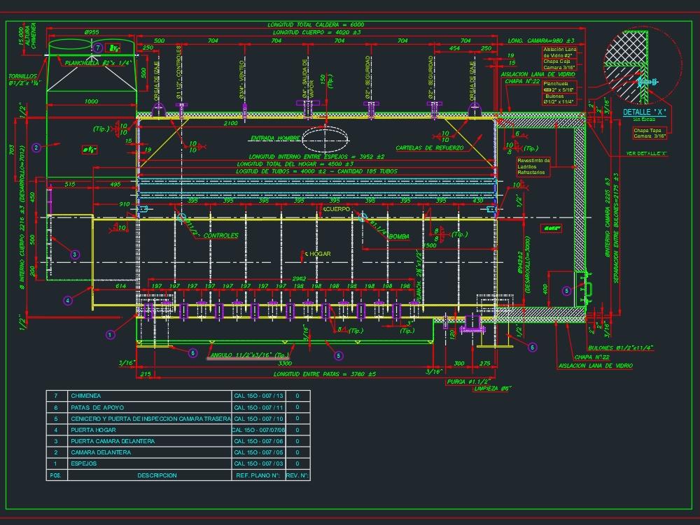 Caldera150 m² 2ph - 8 humotubular..