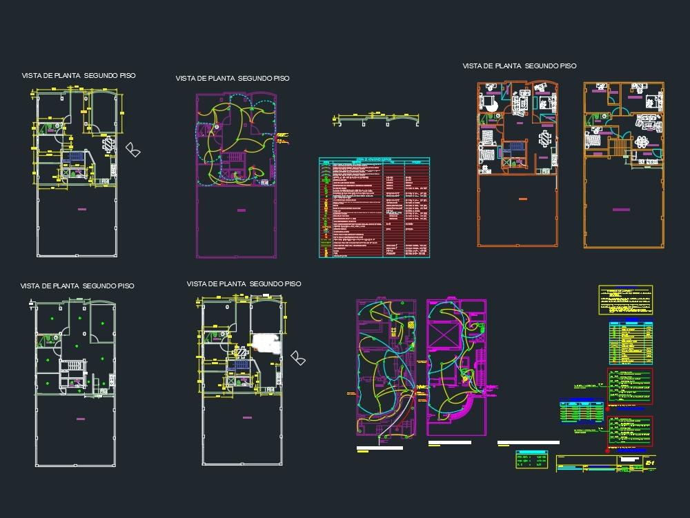 Plano de casa 8 x 14 metros cuadradoss
