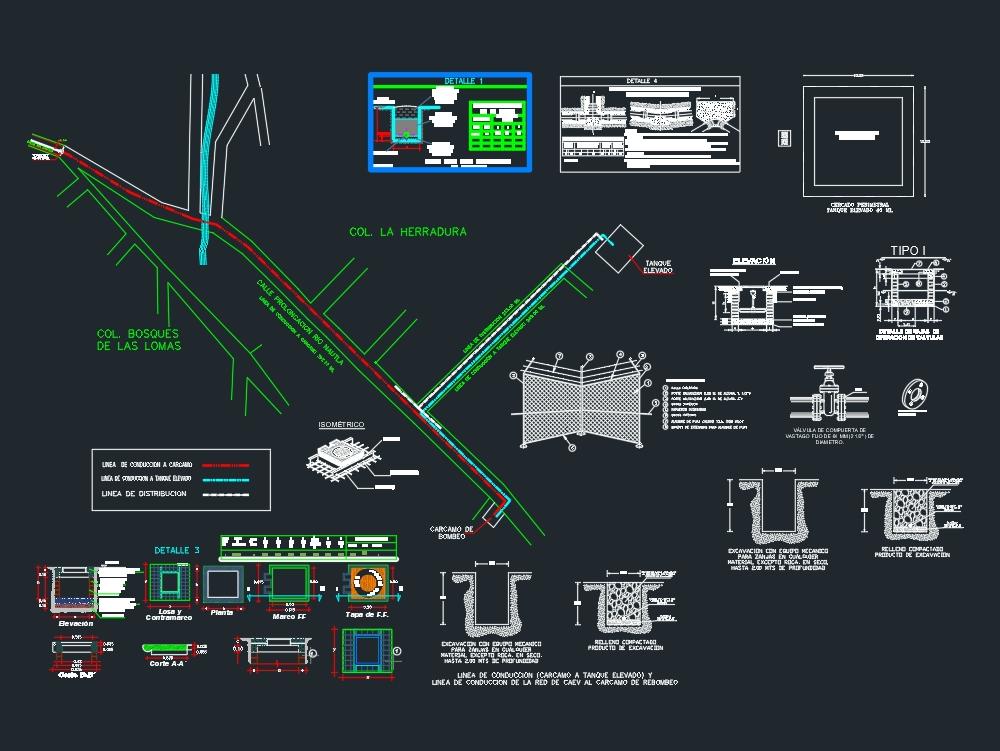 Sistema de agua potable(tanque elevado)