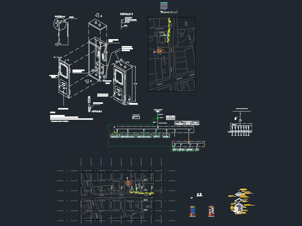 Electrical project mt / bt building