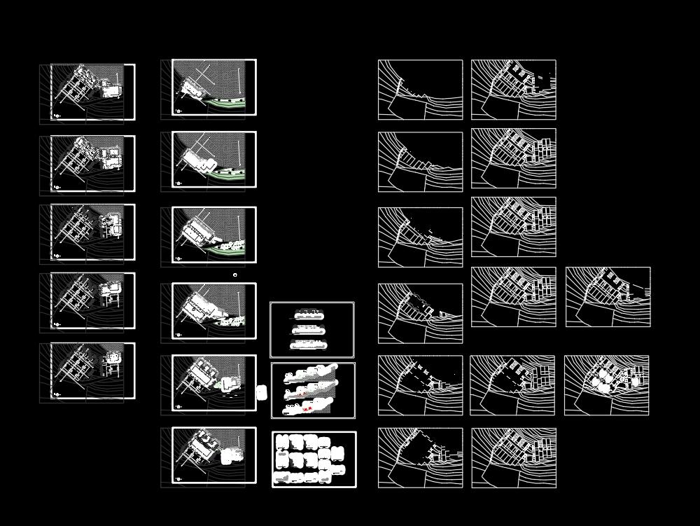 Proyecto de vivienda colectiva en quequeña; arequipa; peru;