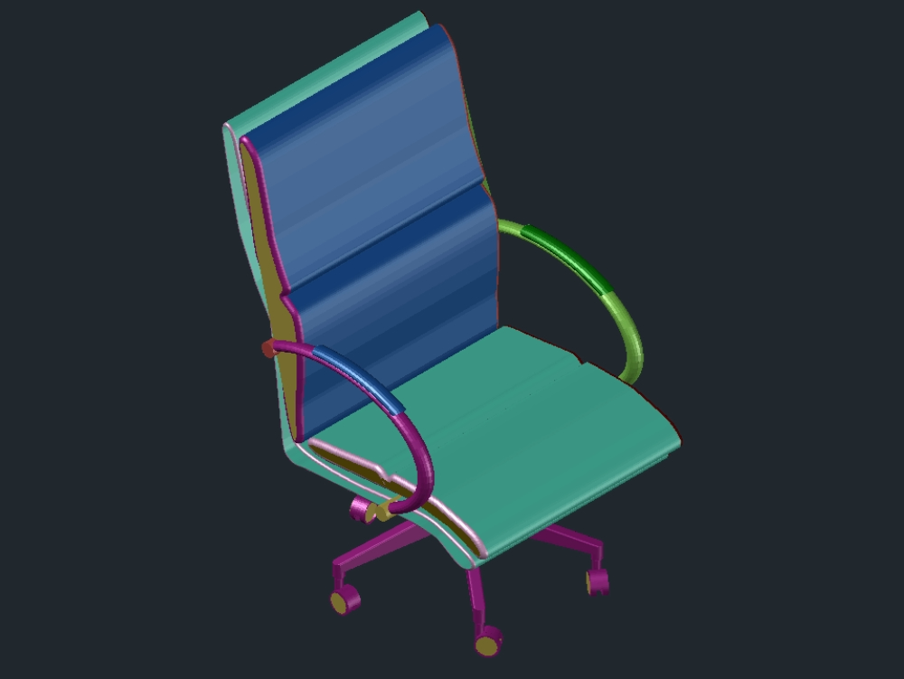 Chair furniture with adjustable backrest